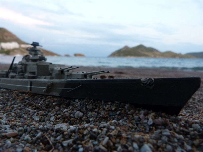 Bismarck Revell 1/580 Vacanc10