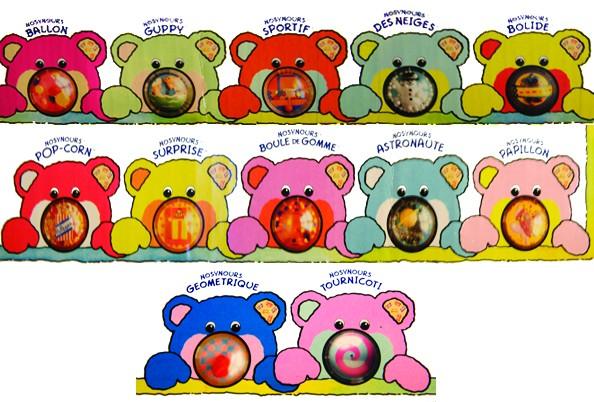 Les Nosy Bears de DADOU 2w3e5o10