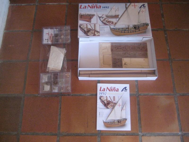 La Nina 1492 1:65 d'Artesania Latina (Terminé) 00810