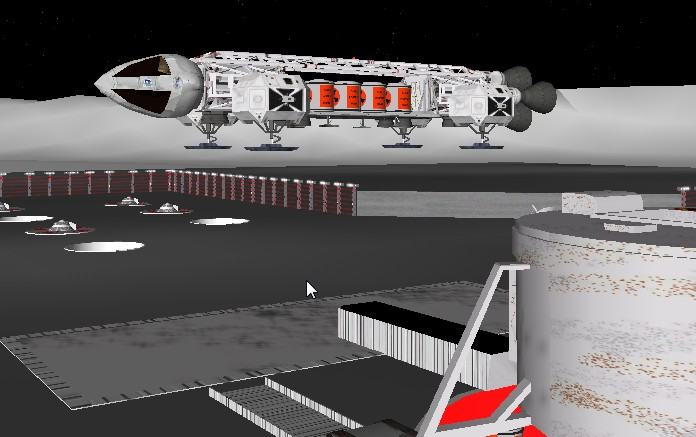 SCENARIO TerryGroove II-aggiornato con XR5, Base ALPHA, e guida alla missione Marte Aquila11