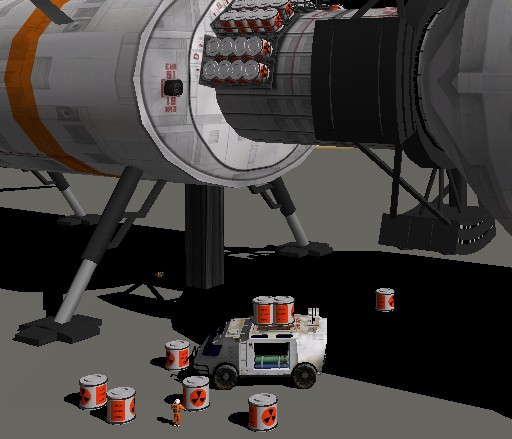 SCENARIO TerryGroove II-aggiornato con XR5, Base ALPHA, e guida alla missione Marte Cargo_10