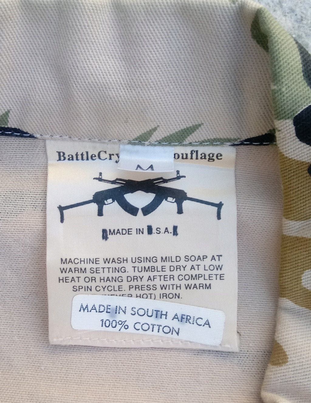 South West African Special Forces (Battle Cry) 02112013