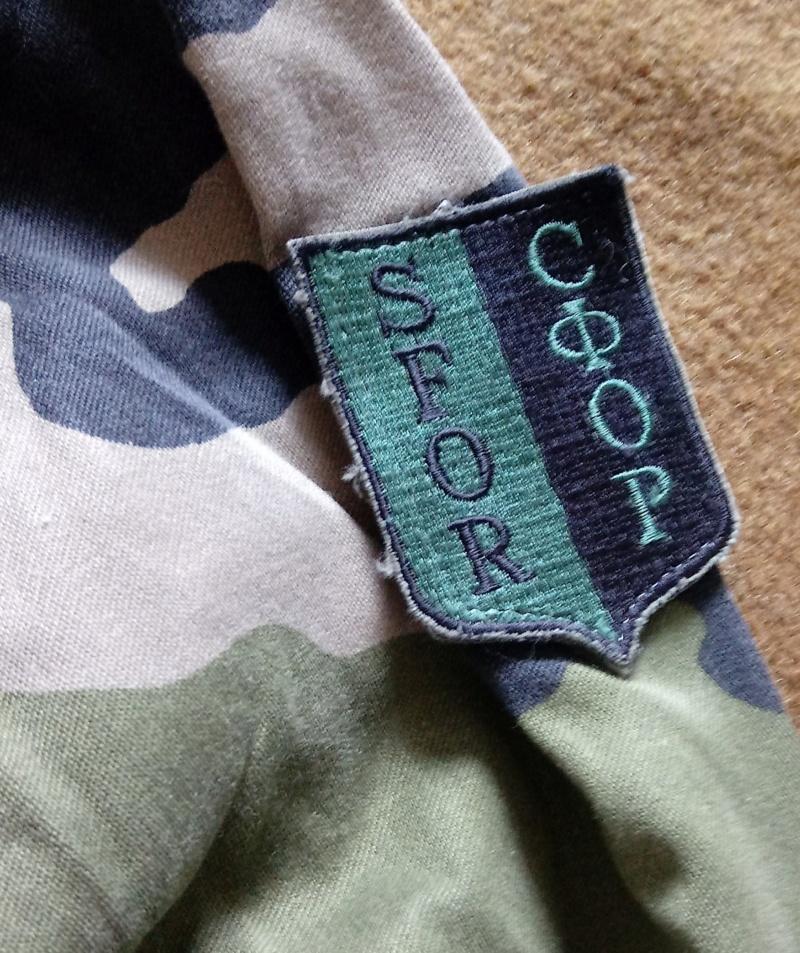 SFOR Uniform 12151920