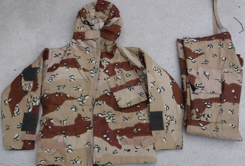 """British made 6 Color Desert Chocolate Chip """"Mk. IV DPM Chemical Protective Smock"""" Dscf4328"""