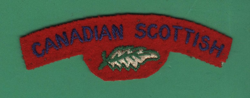 question about Canadian Scottish flash Canadi10