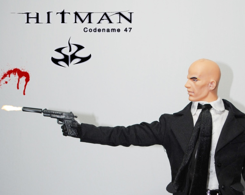 1/6 HITMAN CUSTOM, 12 INCH, 30 CM Hitman12