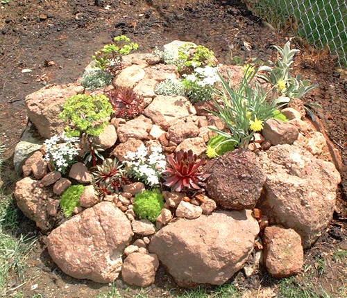 How do I build a rock garden from scratch? Rck_gr13