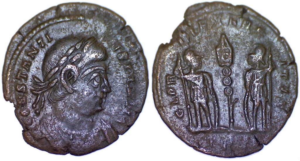 Constantin II pour?  P77410