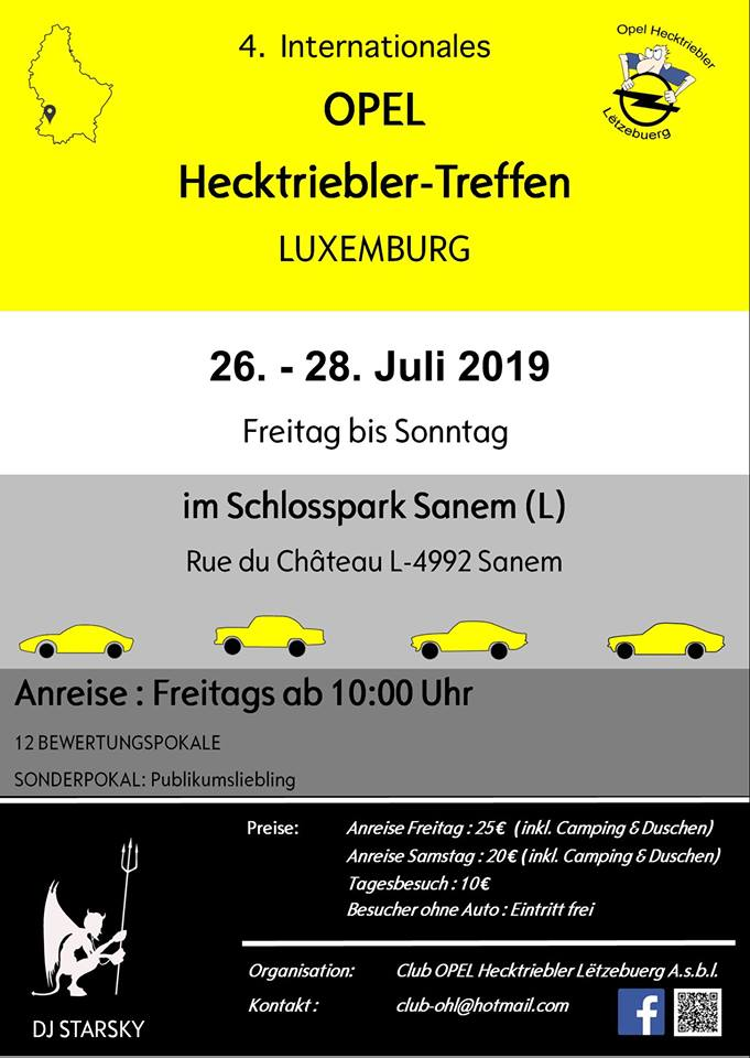 Les 26, 27, 28 juillet 2019, au Luxembourg. 51710810
