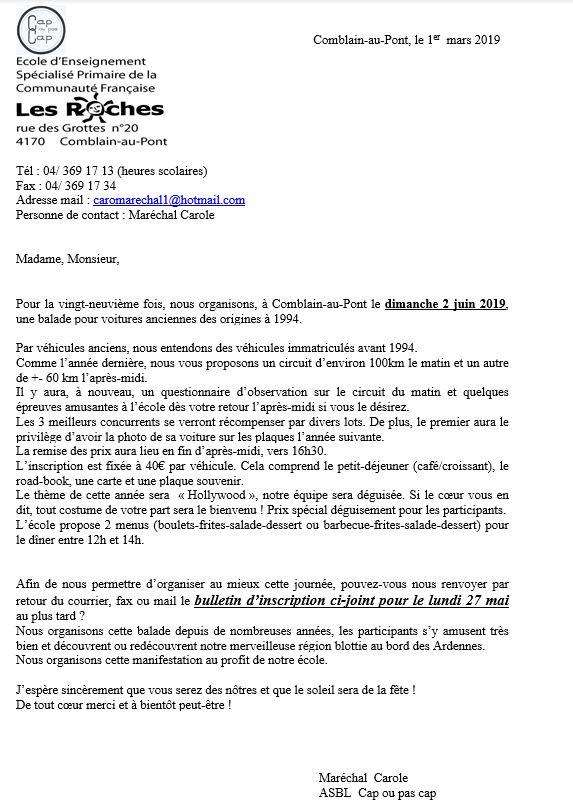 """Le 2 juin 2019, balade de l'école """"Les Roches"""" de Comblain-au-Pont. Combla10"""
