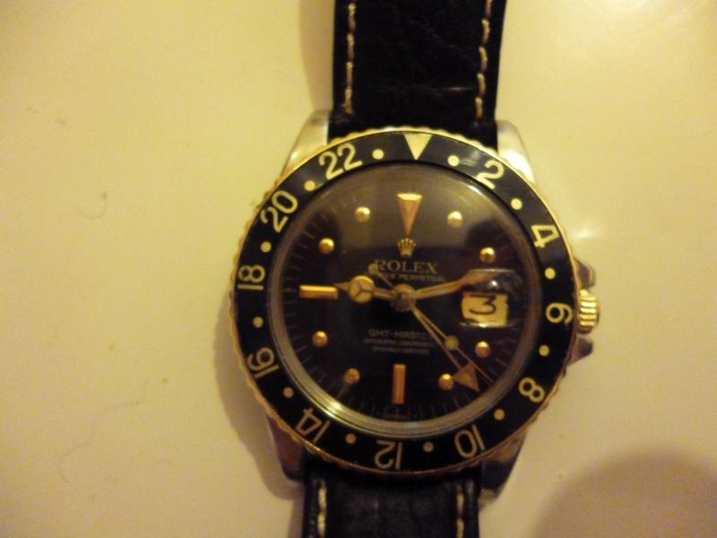 Ma seule montre une Rolex gmt 1675 or et acier 00310