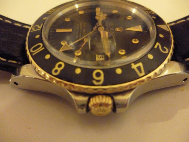 Ma seule montre une Rolex gmt 1675 or et acier 00510