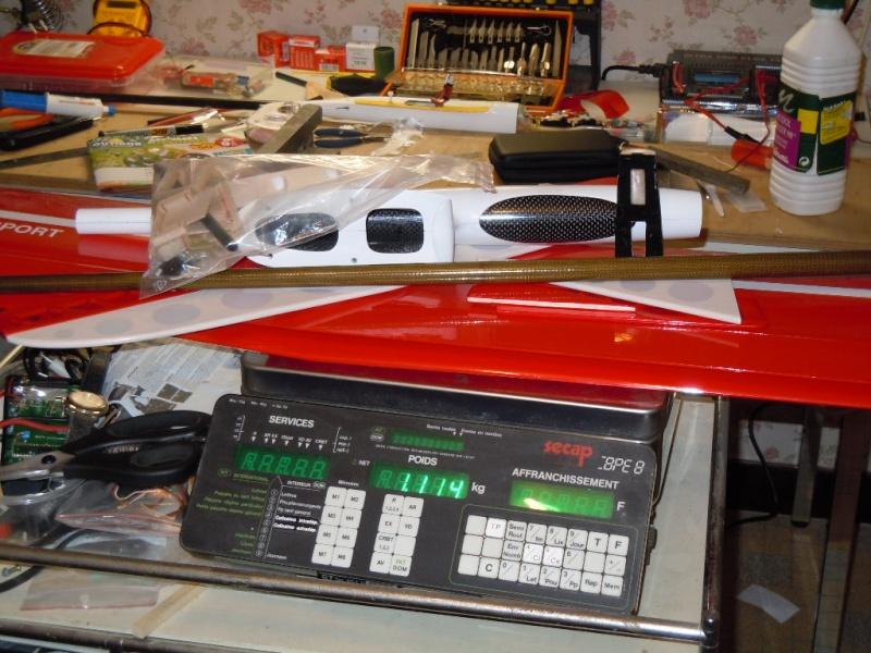 le CIRRUS F5J   sorti de la boite Dscn0121