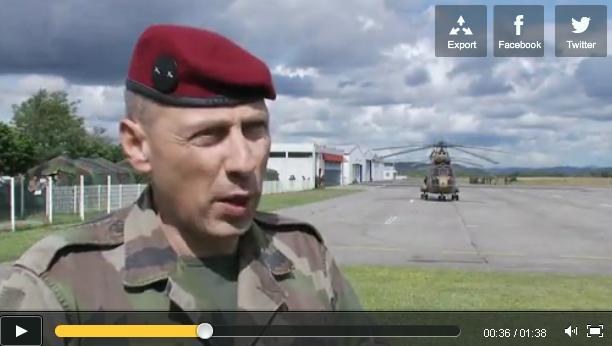 Du 10 au 15 juin 2012, opération MOJITO, la 11e Brigade parachutiste et le Groupe aéronaval réalisent un exercice interarmées  2012_040