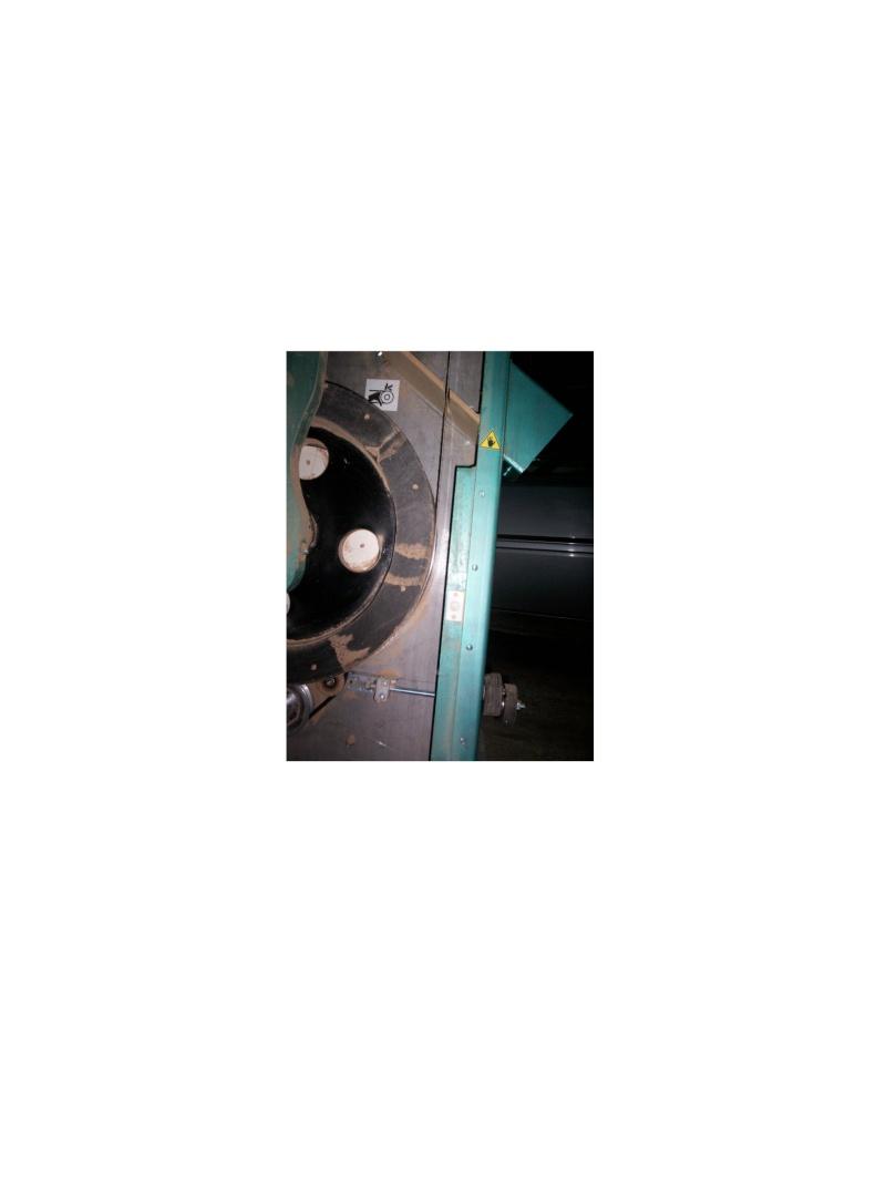 les détails de fabrication de ma scie à ruban Contac10