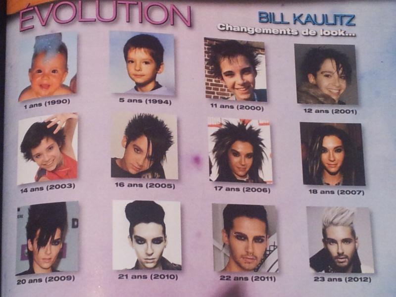 [scan FR] ONE : Evolution Bill Kaulitz , changements de look 01/12/12 20121210