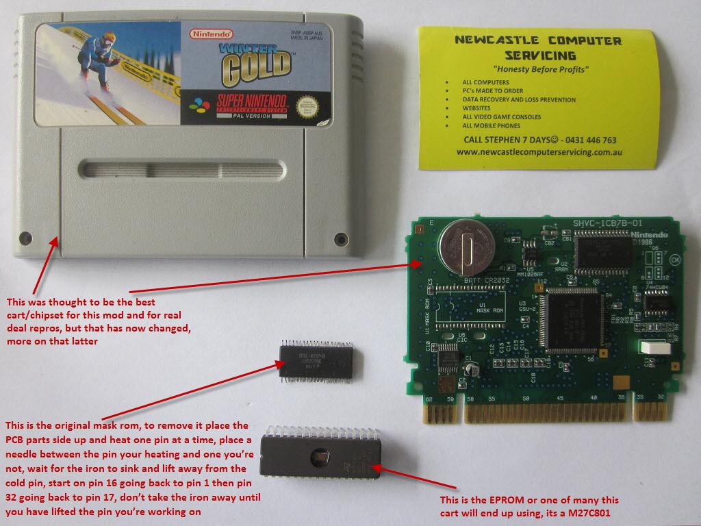 SUPER FX2 super multi eprom-overclock- multi game save battery backup cart Img_1227
