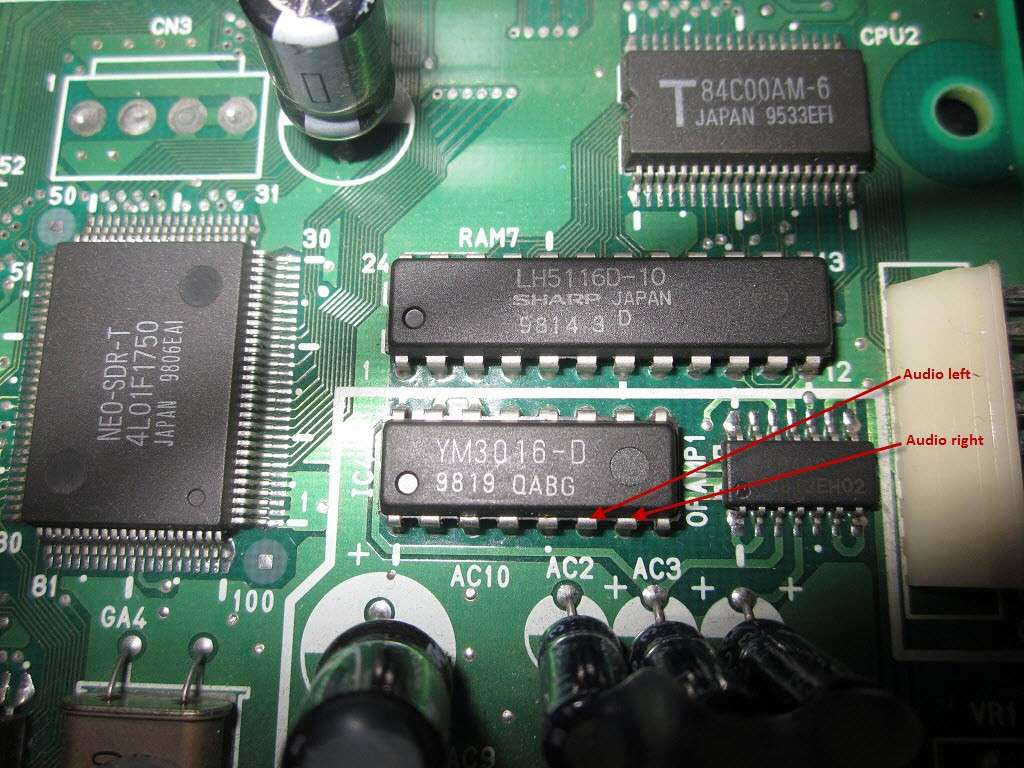 NEO GEO MV-1B STEREO LINE OUT MOD Img_1312