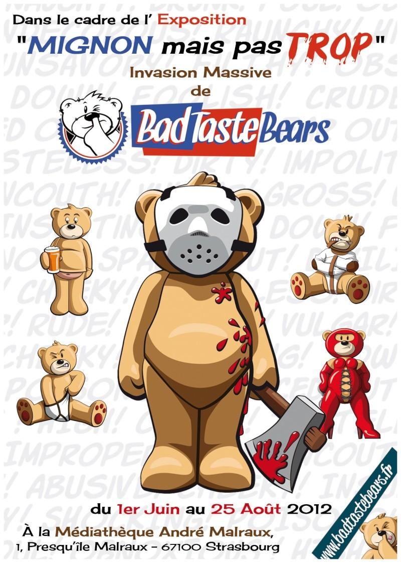 Exposition Bad Taste Bears à Strasbourg et Ouverture du site badtastebears.fr Recto-12