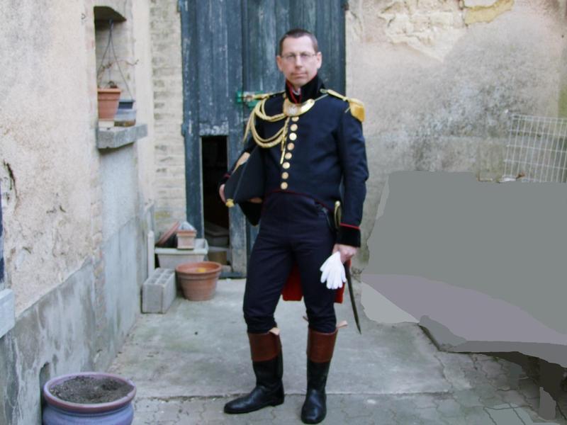 Capitaine du génie de la garde impériale Capita10