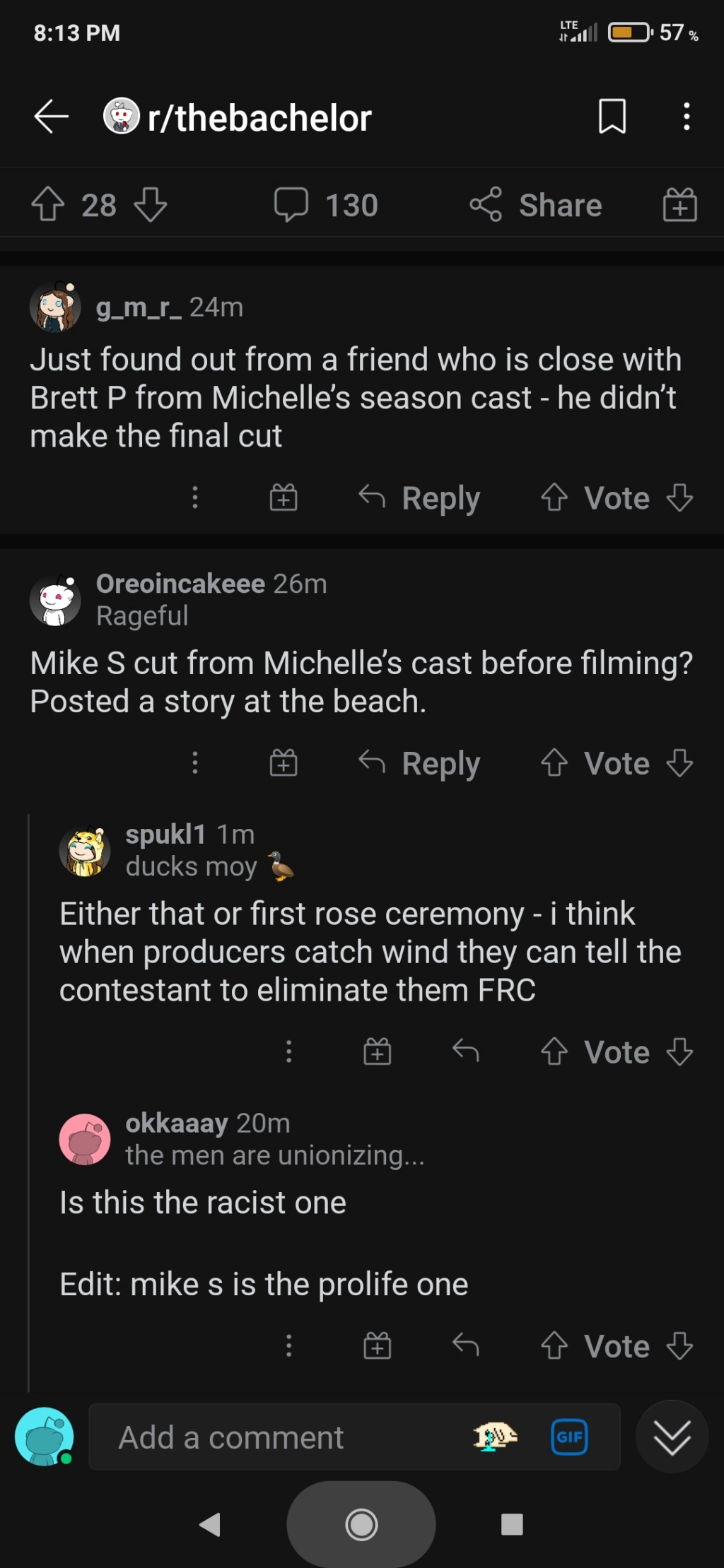 Bachelorette 18 - Michelle Young - Eliminated - NO Discussion - *Sleuthing Spoilers* Screen12