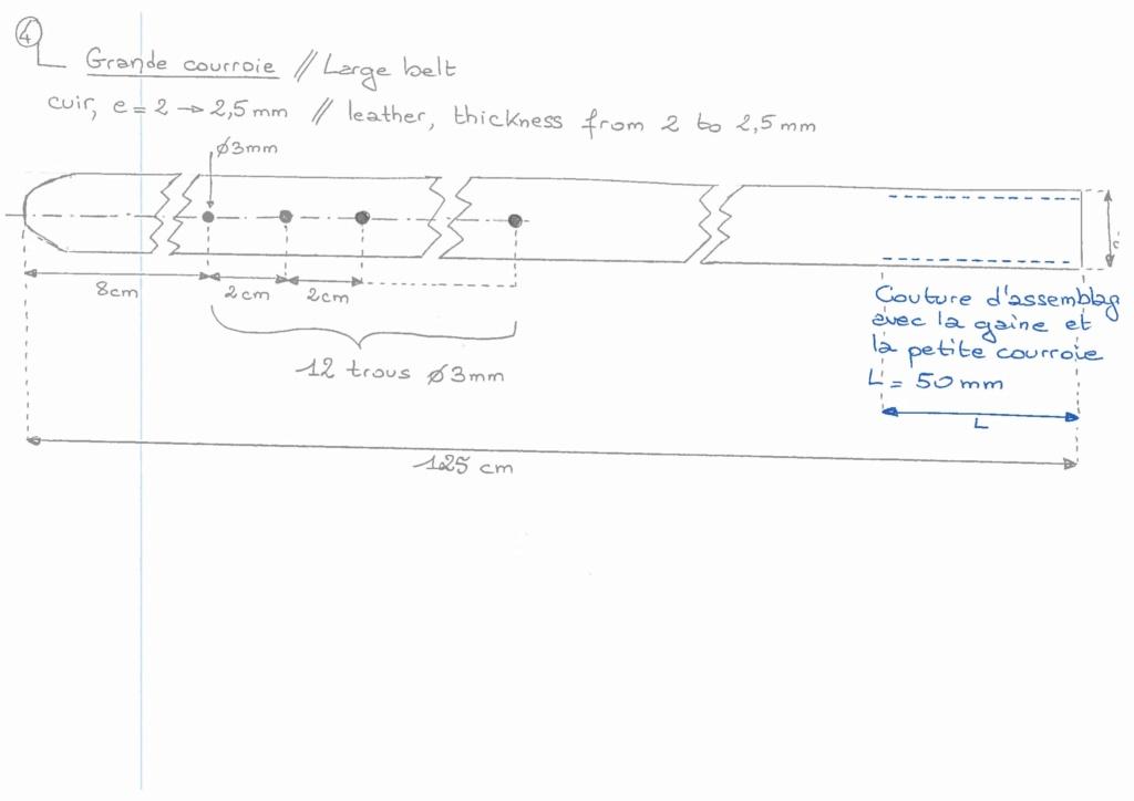 [Reproduction] Courroie de bidon de cavalerie modèle 1884 Descri12