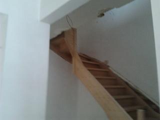 """Réalisation d'un escalier """"simple""""  2012-014"""