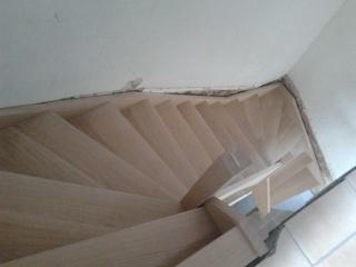 """Réalisation d'un escalier """"simple""""  2012-015"""