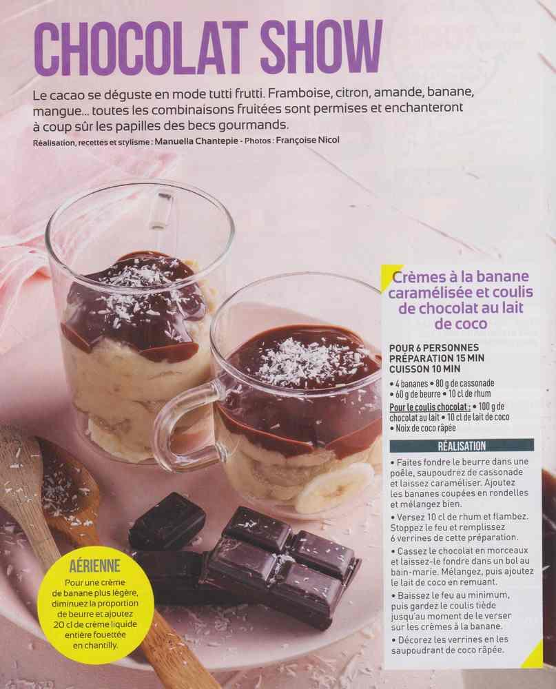 varier les desserts 115