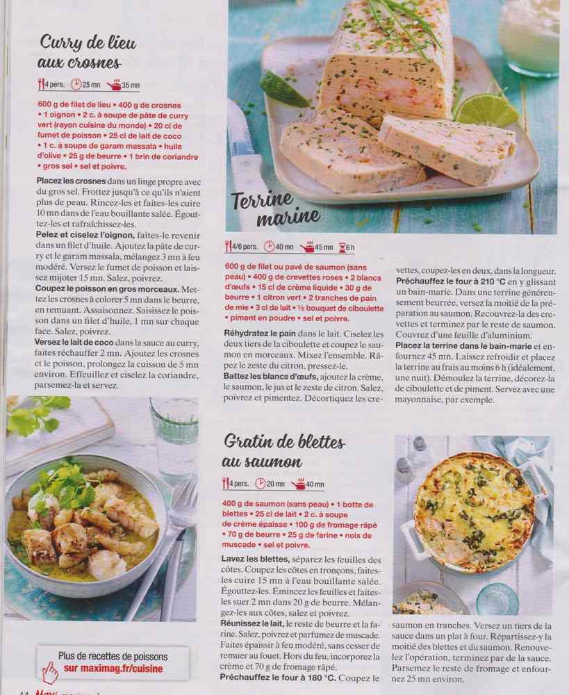"""les bons """" petits """" plats maison 311"""