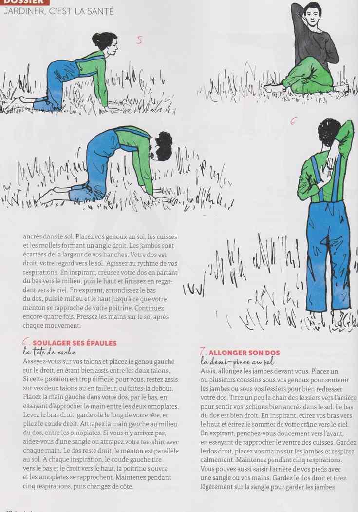 le yoga du jardinier 328
