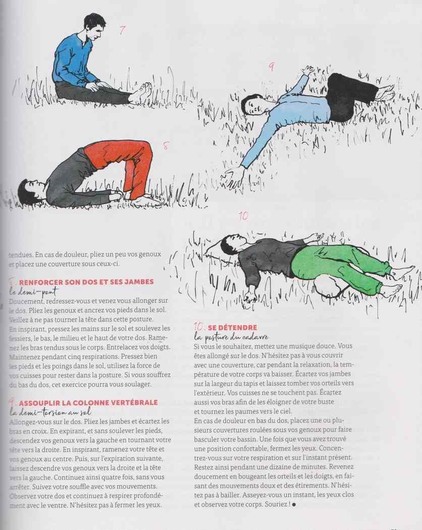 le yoga du jardinier 424