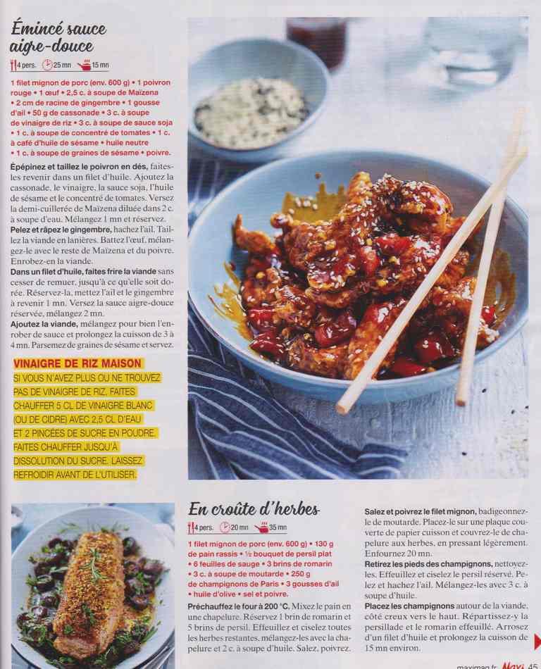 """les bons """" petits """" plats maison - Page 3 821"""