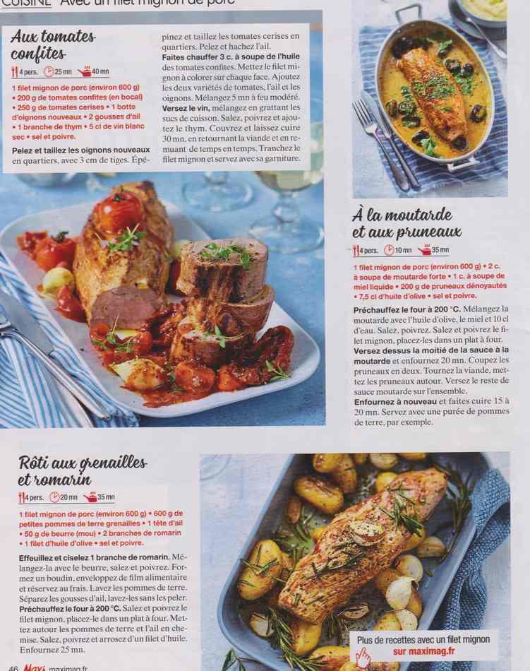 """les bons """" petits """" plats maison - Page 3 918"""