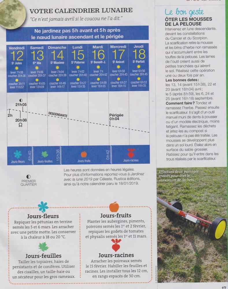 votre calendrier lunaire de la semaine - Page 3 Calend10
