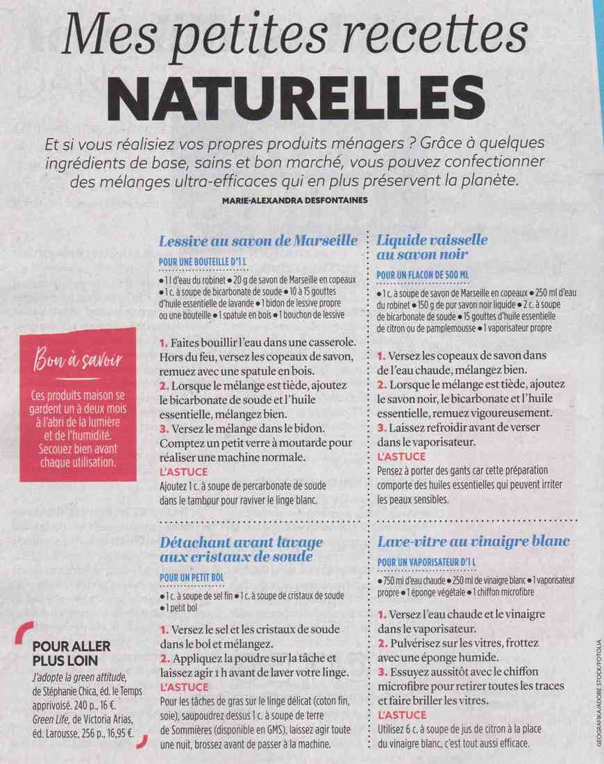 mes petites recettes naturelles Q10
