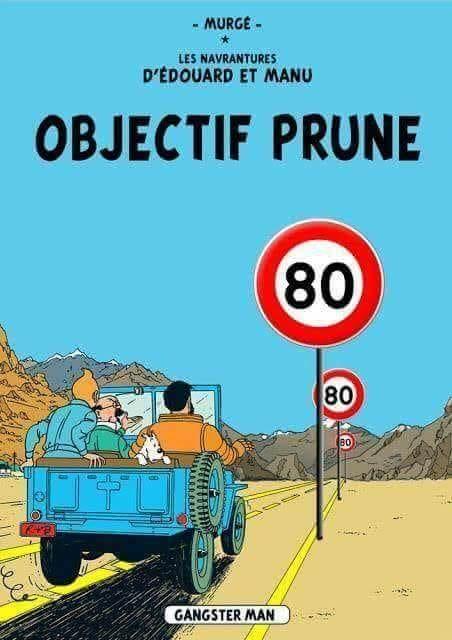 limitation de la vitesse à 80 Km/h sur route en 2018 80kmh10