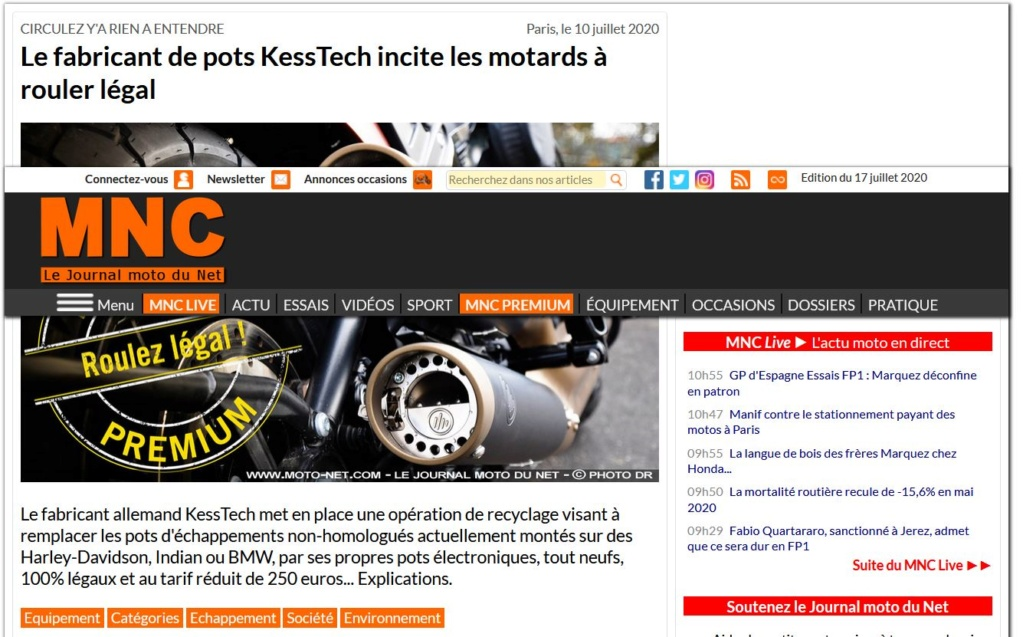 Echappement Kess Tech Pot10