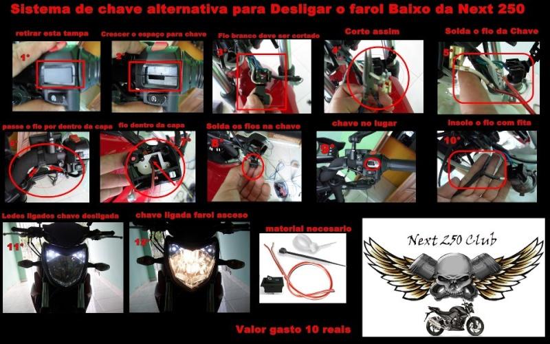 Desligamento de farol - Chave alternativa Chave_10