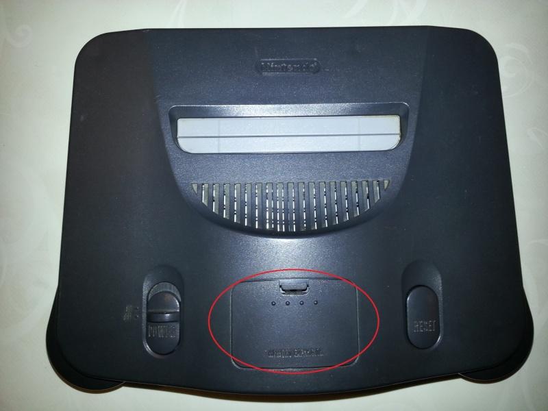 Modification pour passer La Nintendo 64 en RGB officiel. 20121114