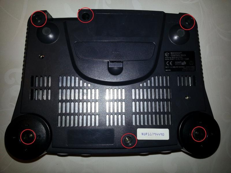 Modification pour passer La Nintendo 64 en RGB officiel. 20121115