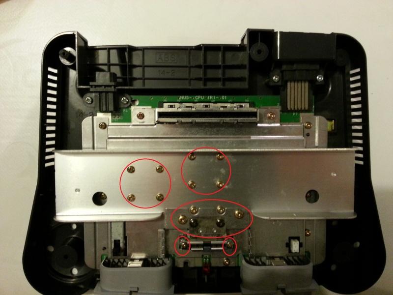 Modification pour passer La Nintendo 64 en RGB officiel. 20121116
