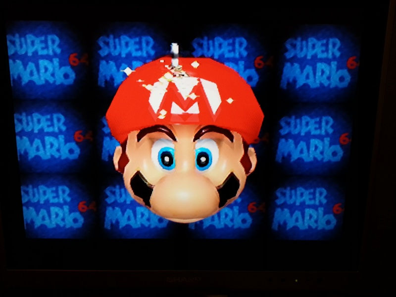 Modification pour passer La Nintendo 64 en RGB officiel. 20121128