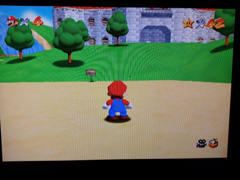 Modification pour passer La Nintendo 64 en RGB officiel. 20121129