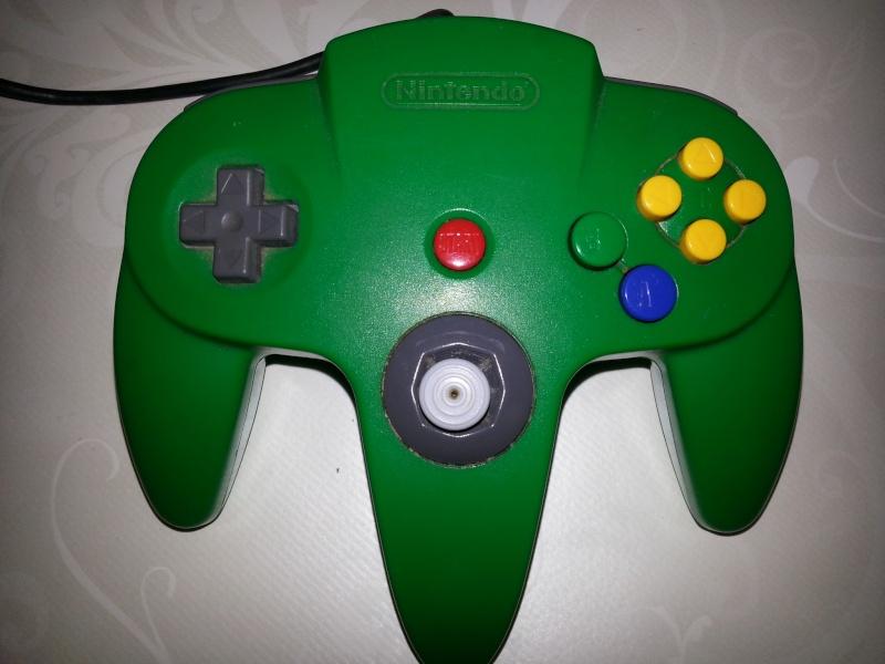 Restauration des manettes Nintendo 64. 20121141