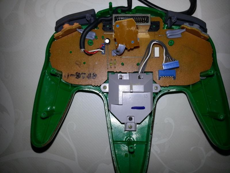 Restauration des manettes Nintendo 64. 20121143