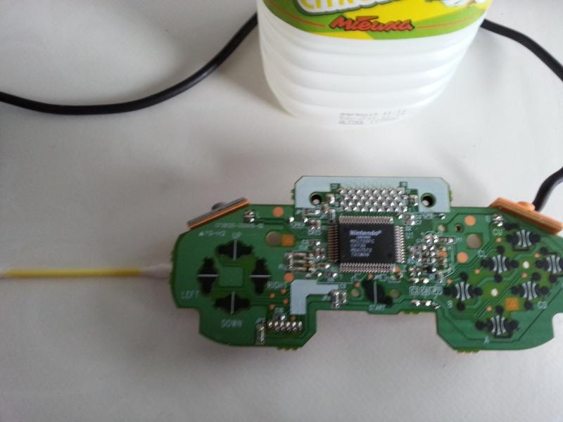 Restauration des manettes Nintendo 64. 20121146