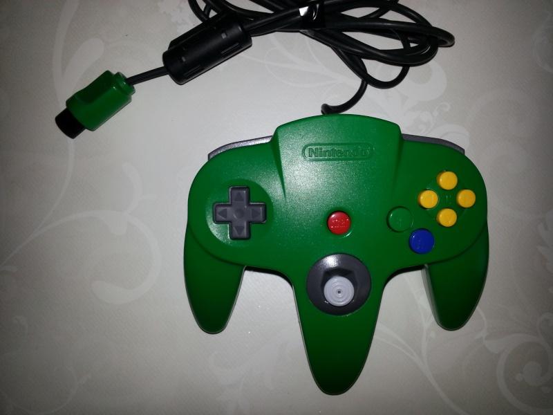 Restauration des manettes Nintendo 64. 20121152
