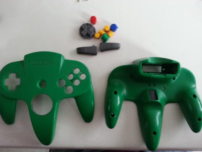 Restauration des manettes Nintendo 64. 20121153