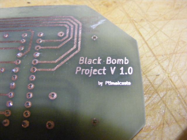 """Tuto Black Bomb Project - """"Créer ses propres circuit imprimé"""" Intégré Dscf1915"""